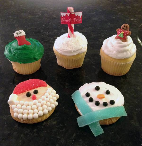 10 Easy Christmas Cupcake Ideas How To Make