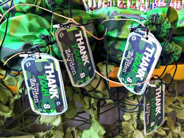 camouflage party supplies army military boot camp birthday ideas photo of  catch my theme decorations