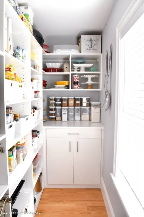 Finally I have the  pantry