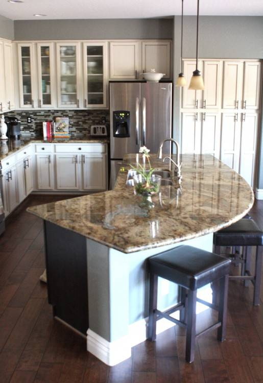 Terrific Round Kitchen Island An Unexpected Innovation Or A Problem On All  Kitchen Design Ideas: