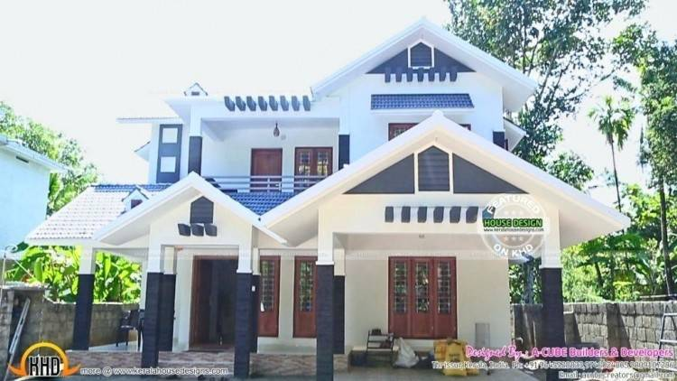 Decorative Bedroom House Architecture Kerala Home Design Style Plans In  Sq Ft First Floor Total Area