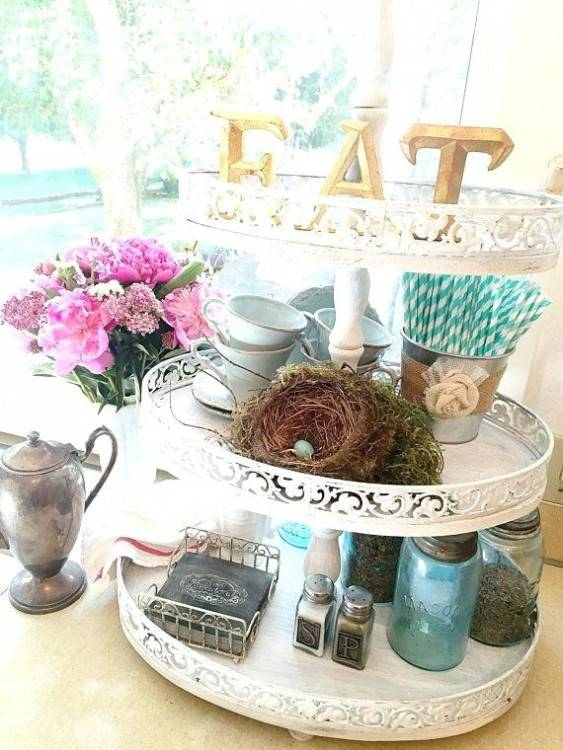 two tier tray metal 2 tier tray decorating ideas