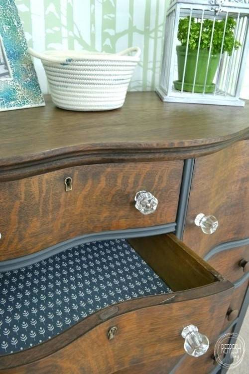 Stacked Chest of Drawers Vintage Furniture Smithers of Stamford £ 646