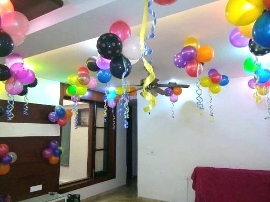 Balloon Decorations For Nice Kids Birthday Party