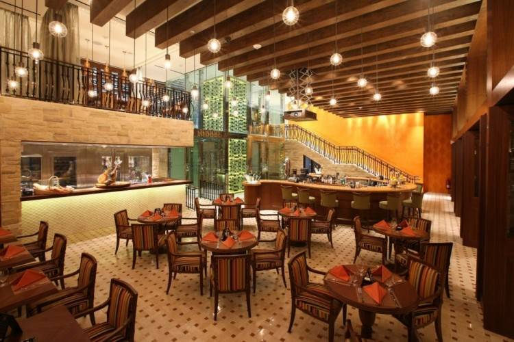 Each restaurant offers group  and private