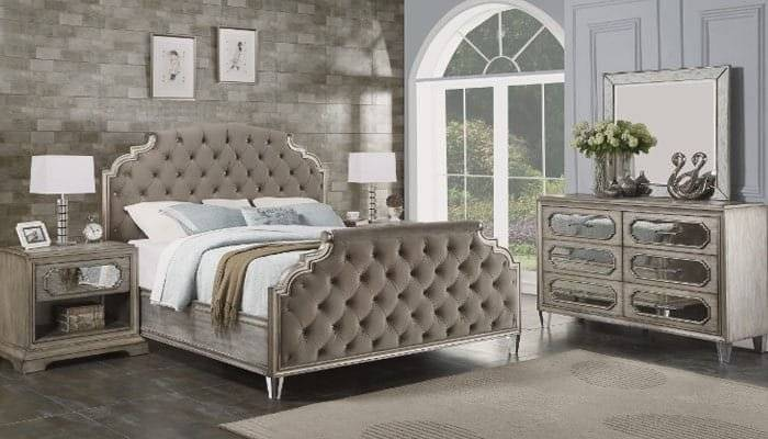 Hillsdale Metal BedsQueen Bed Set