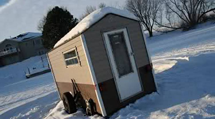 Ice Fishing Houses Plans Lovely Ice Fishing House Plans Permanent Ice  House Design Plans