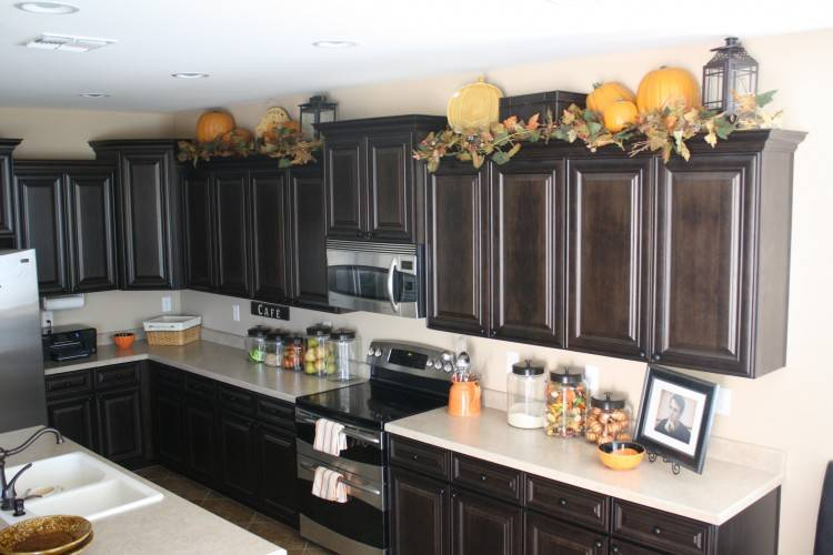 over kitchen cabinet decor decorating kitchen cabinet tops kitchen cabinet  decor design ideas for the space
