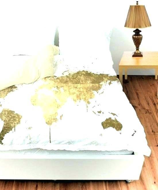 white and gold bedroom ideas
