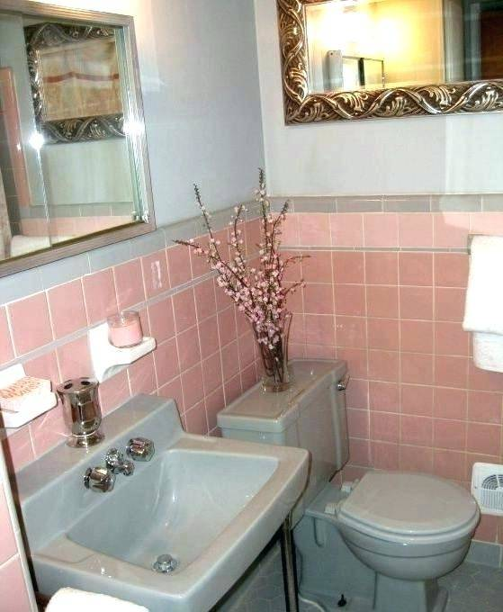 Pink Bathroom Decorating Ideas Decor Tile