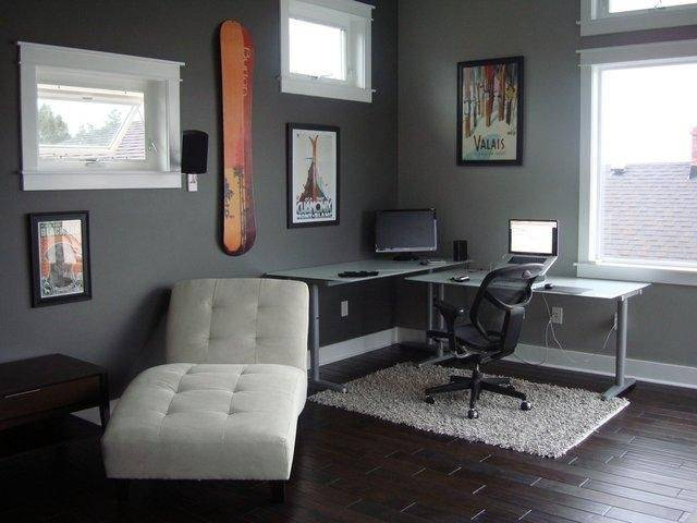 Modern and small office design