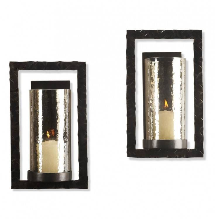 Contemporary Wall Candle Sconces Outdoor